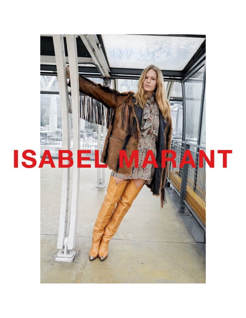 Juergen Teller photographs Isabel Marant's fall-winter 2018 campaign