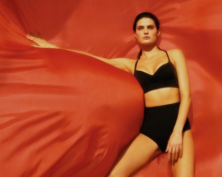 Isabeli Fontana stars in Isabeli Fontana Lingerie x Morena Rosa campaign