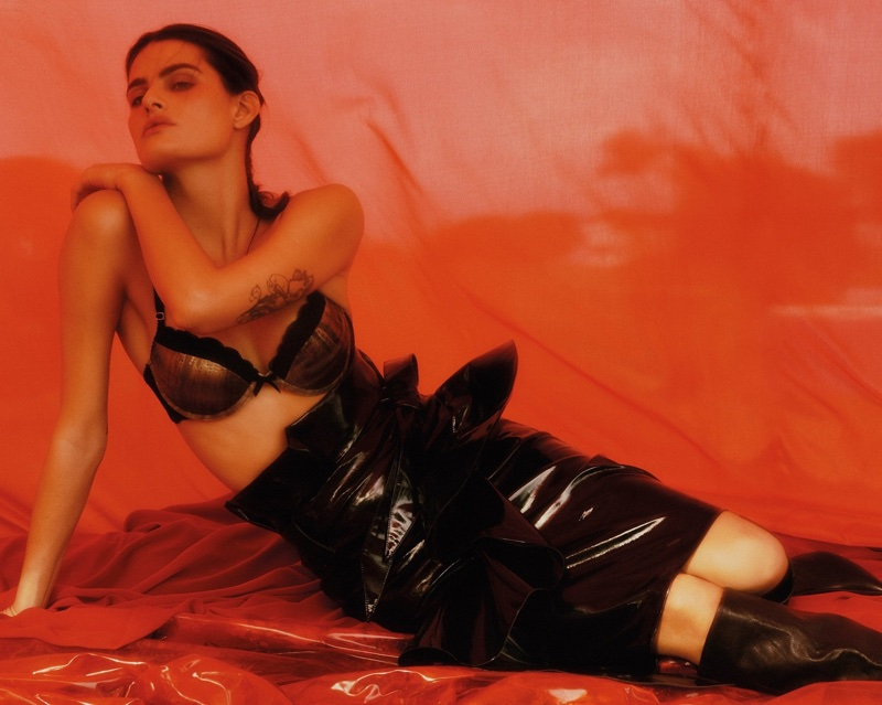 Isabeli Fontana collaborates with Morena Rosa on lingerie collection