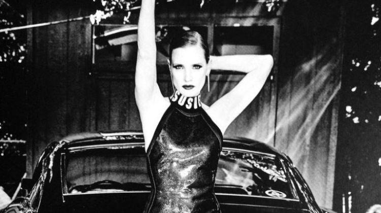 Jessica Chastain Channels Her Inner Bombshell for Egoiste Magazine