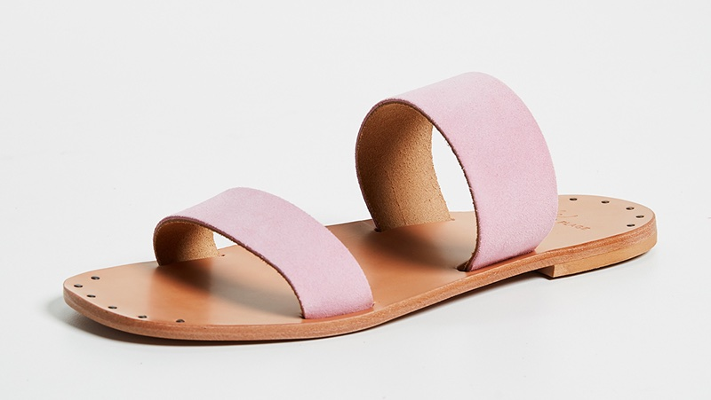 Joie Bannerly Two Band Slides in Orchid Pink $112.80 (previously $188)