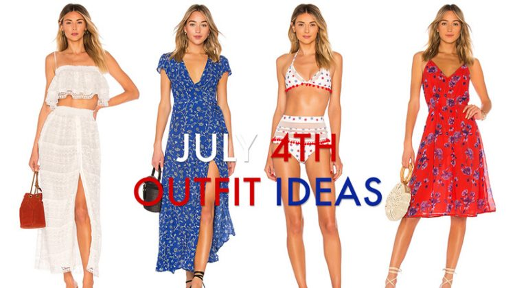 Red, White & Blue: Cool July 4th Styles