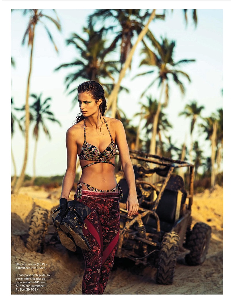 Kate Bock Rocks Prints with Attitude for Woman Spain