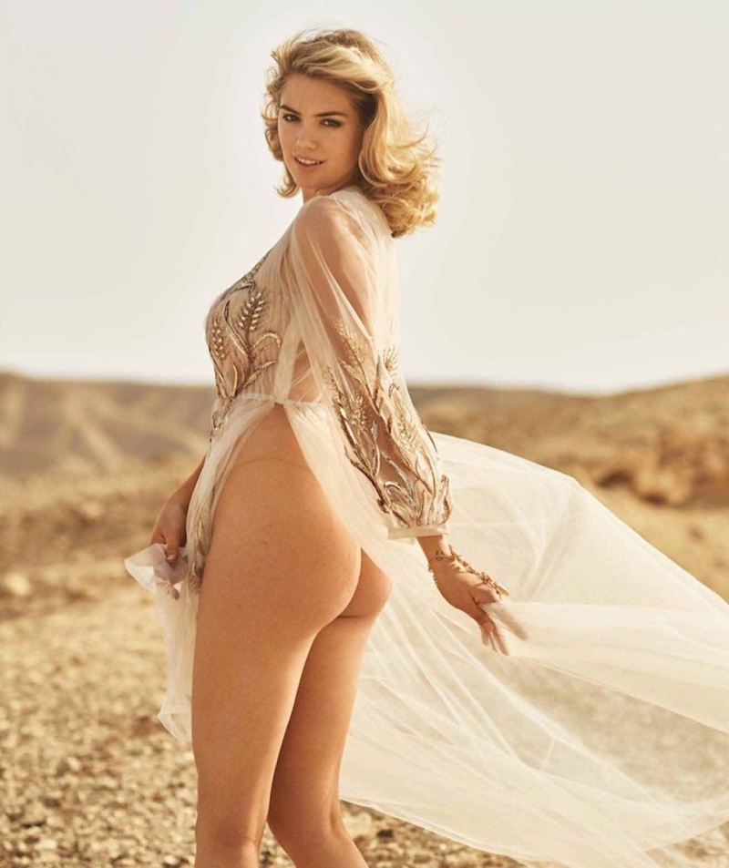 Kate Upton Smolders in Maxim Hot 100 Cover Story