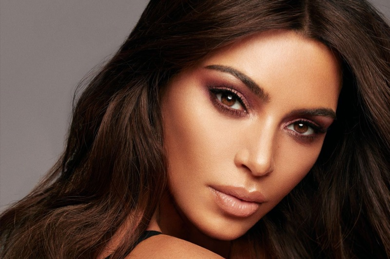 KKW Beauty x Mario campaign with Kim Kardashian