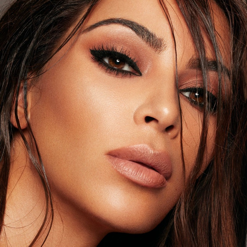 Kim Kardashian for KKW Beauty x Mario campaign