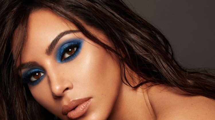 KKW Beauty x Mario campaign featuring Kim Kardashian