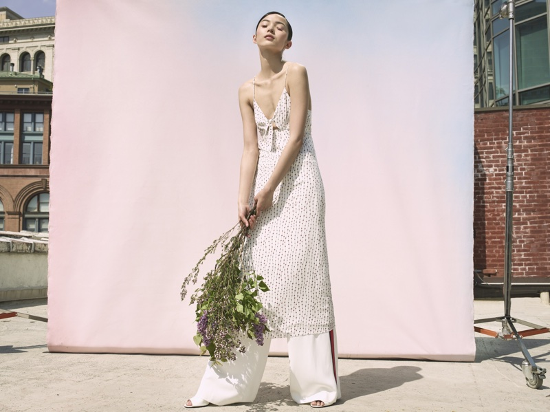 La Ligne features fresh whites in summer 2018 campaign