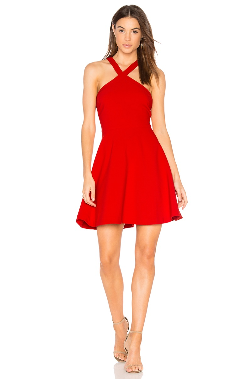 Likely Ashland Dress in Red $86 (previously $178)