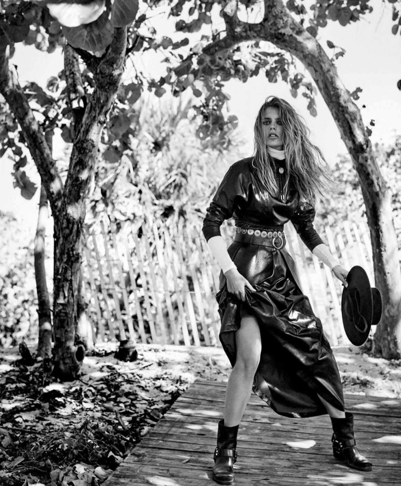 Madison Headrick Wears Rugged Western Fashion for Vogue Mexico