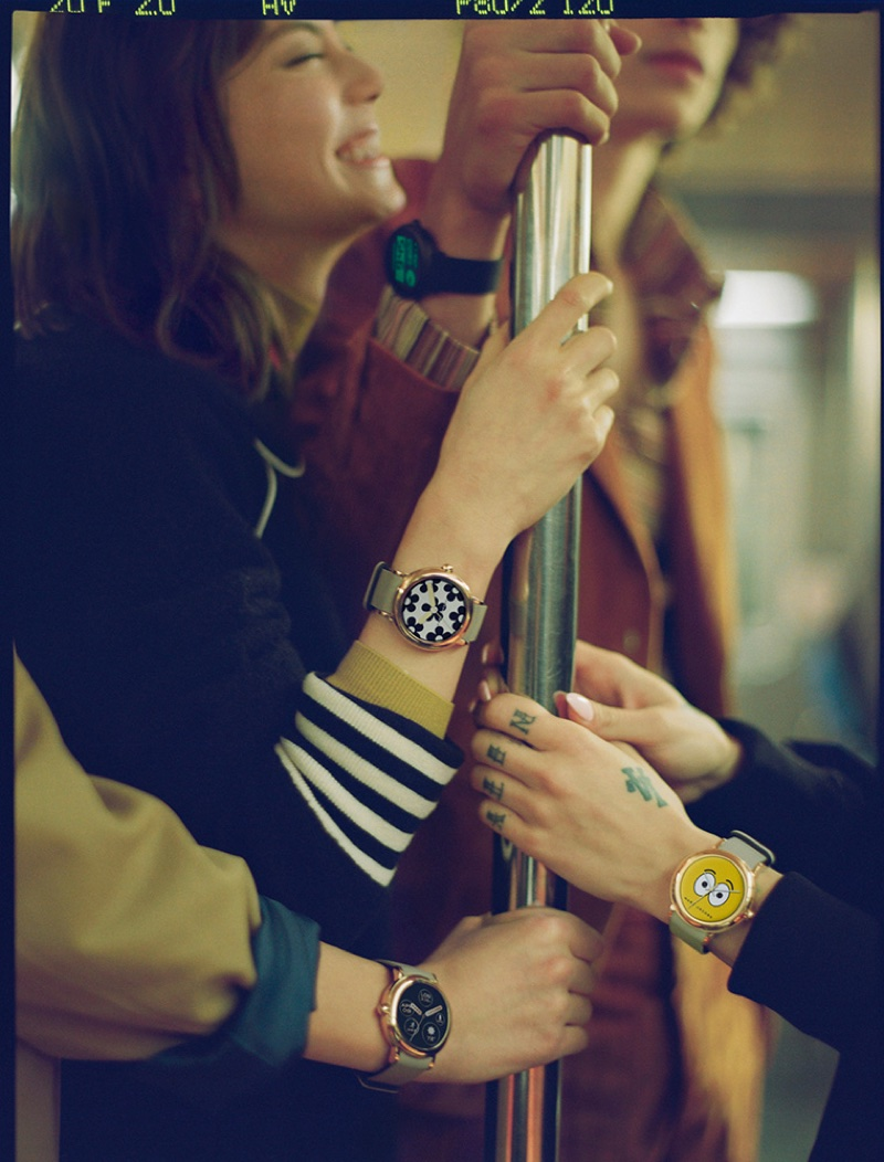 An image from Marc Jacobs Smartwatches advertising campaign