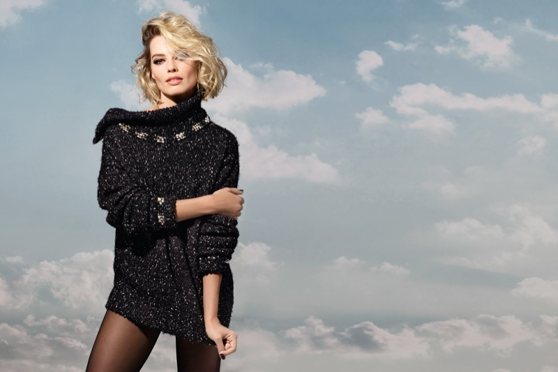 Margot Robbie stars in Chanel Coco Neige campaign