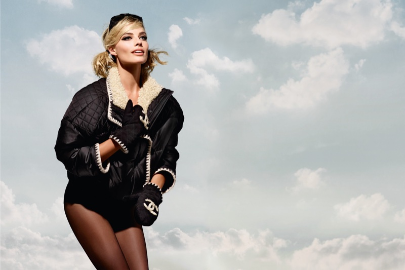 Chanel enlists Margot Robbie for Coco Neige campaign