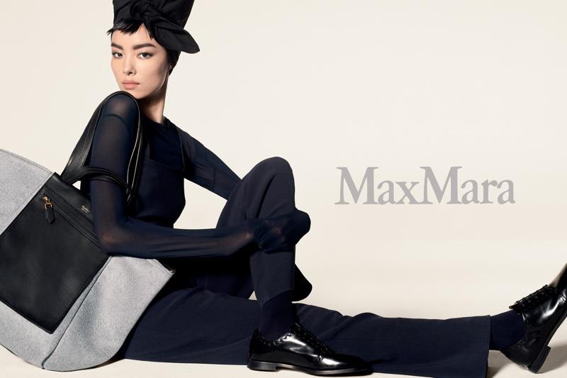 Fei Fei Sun stars in Max Mara's pre-fall 2018 campaign