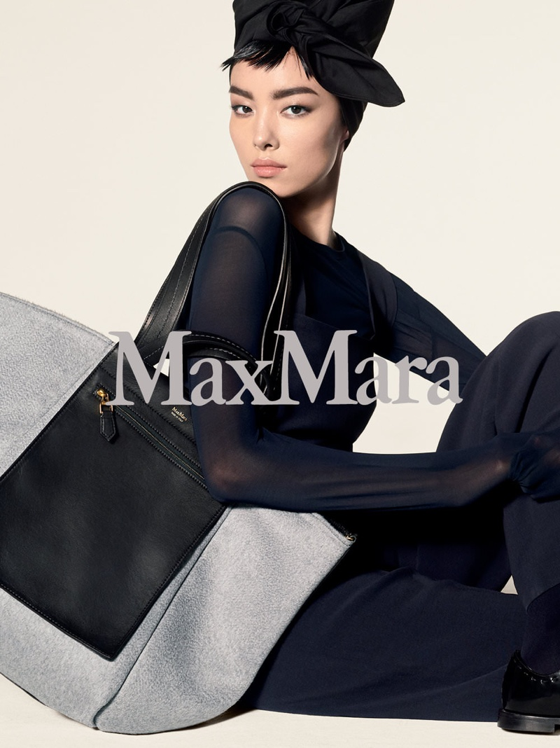 An image from Max Mara's pre-fall 2018 advertising campaign