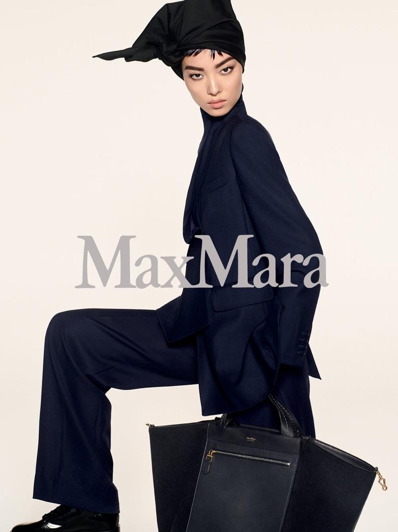 Fei Fei Sun fronts Max Mara's pre-fall 2018 campaign