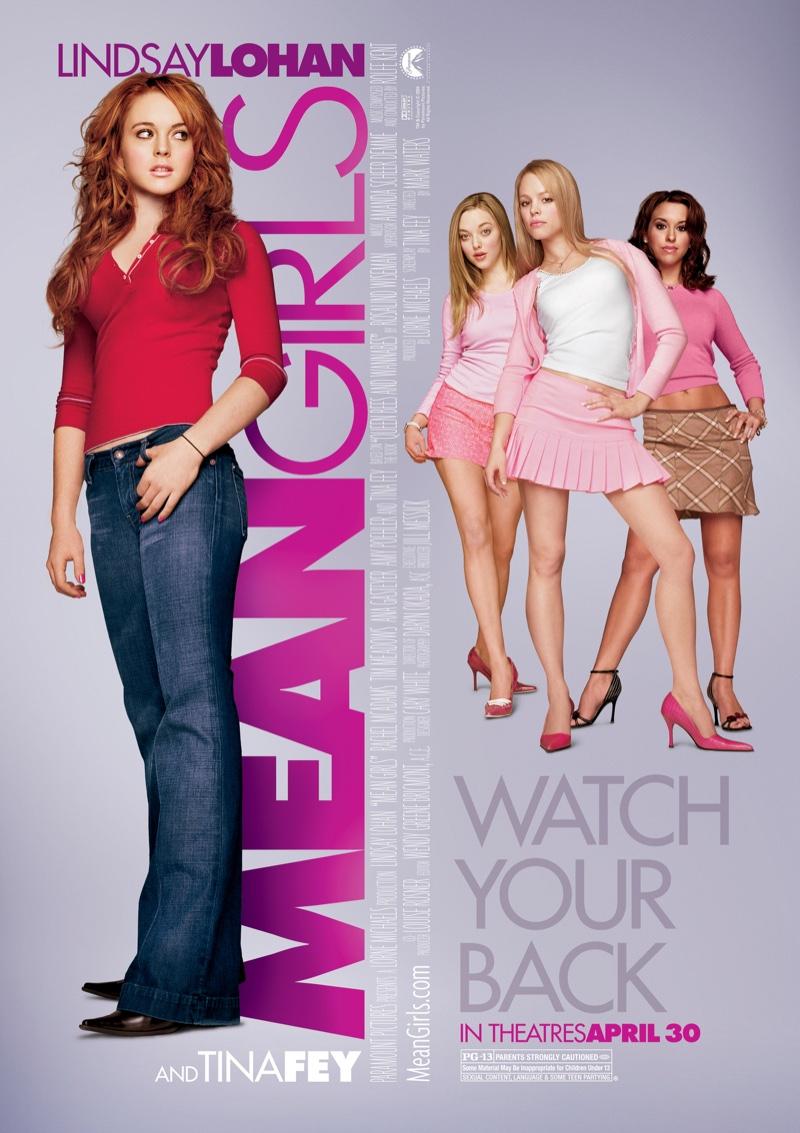 Mean Girls movie poster.