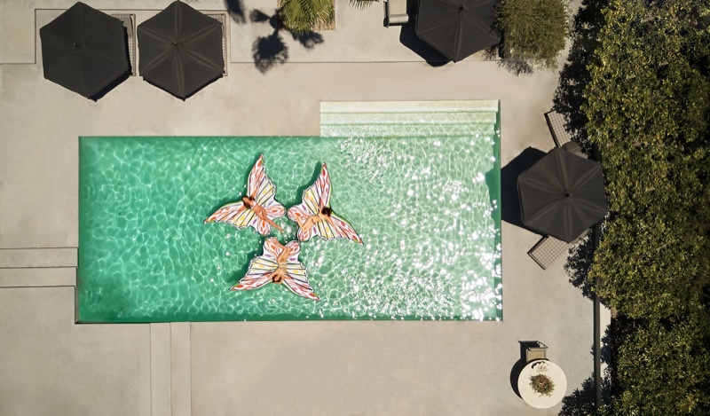 Missoni x Funboy pool floats
