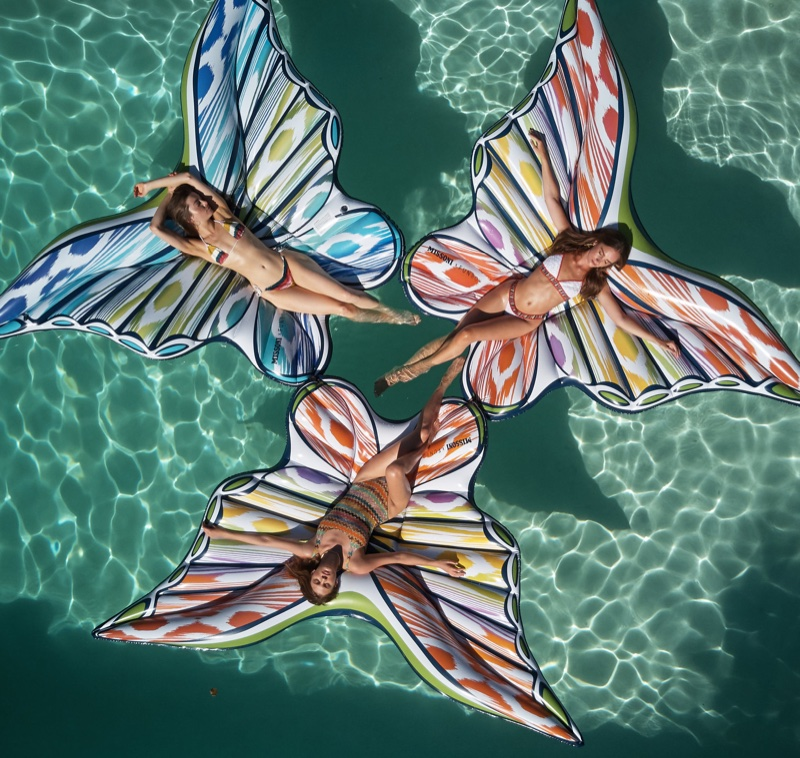 Missoni x Funboy's pool float collaboration - priced at $148