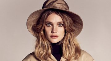 Natalia Vodianova Strikes a Pose for Vogue Russia