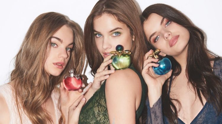Estella Boersma, Barbara Palvin and Sonia Ben Ammar star in Nina Ricci Belles de Nina fragrance campaign