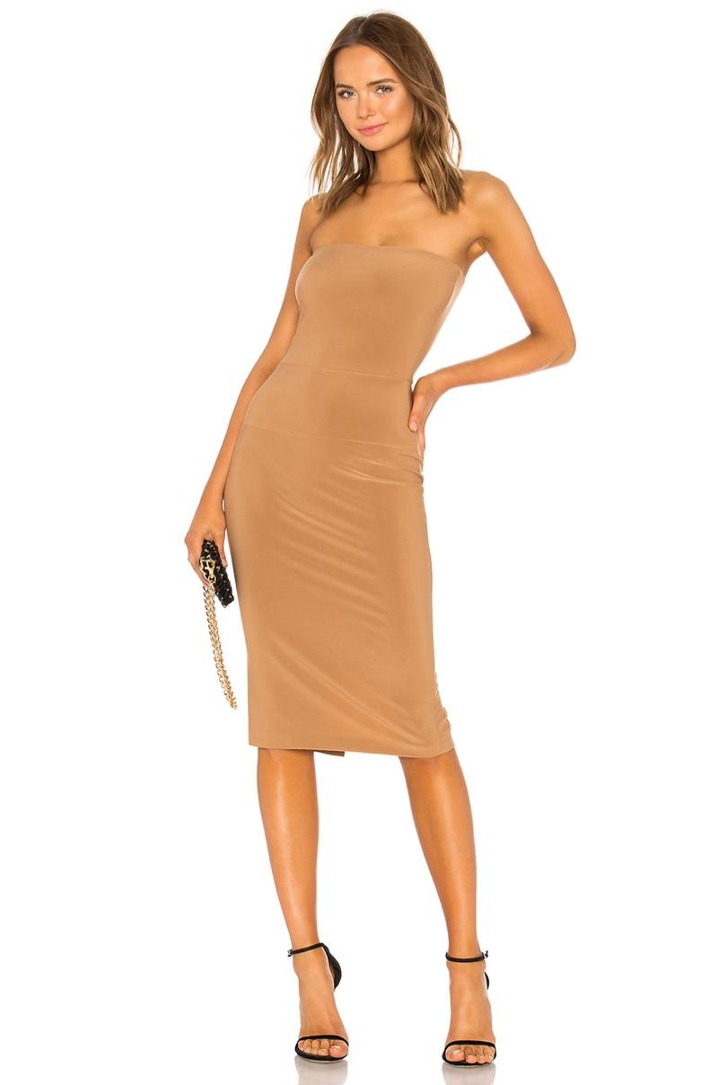 Norma Kamali x REVOLVE Strapless Dress $125