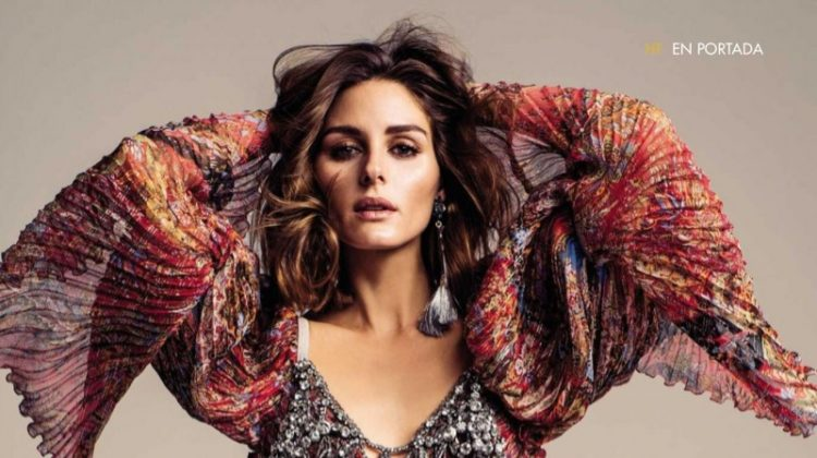 Olivia Palermo Wears Glam Dresses for Hola! Fashion