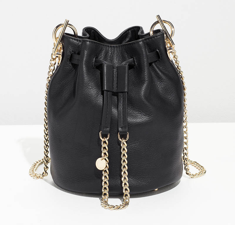& Other Stories Chain Strap Bucket Bag $95 (previously $135)
