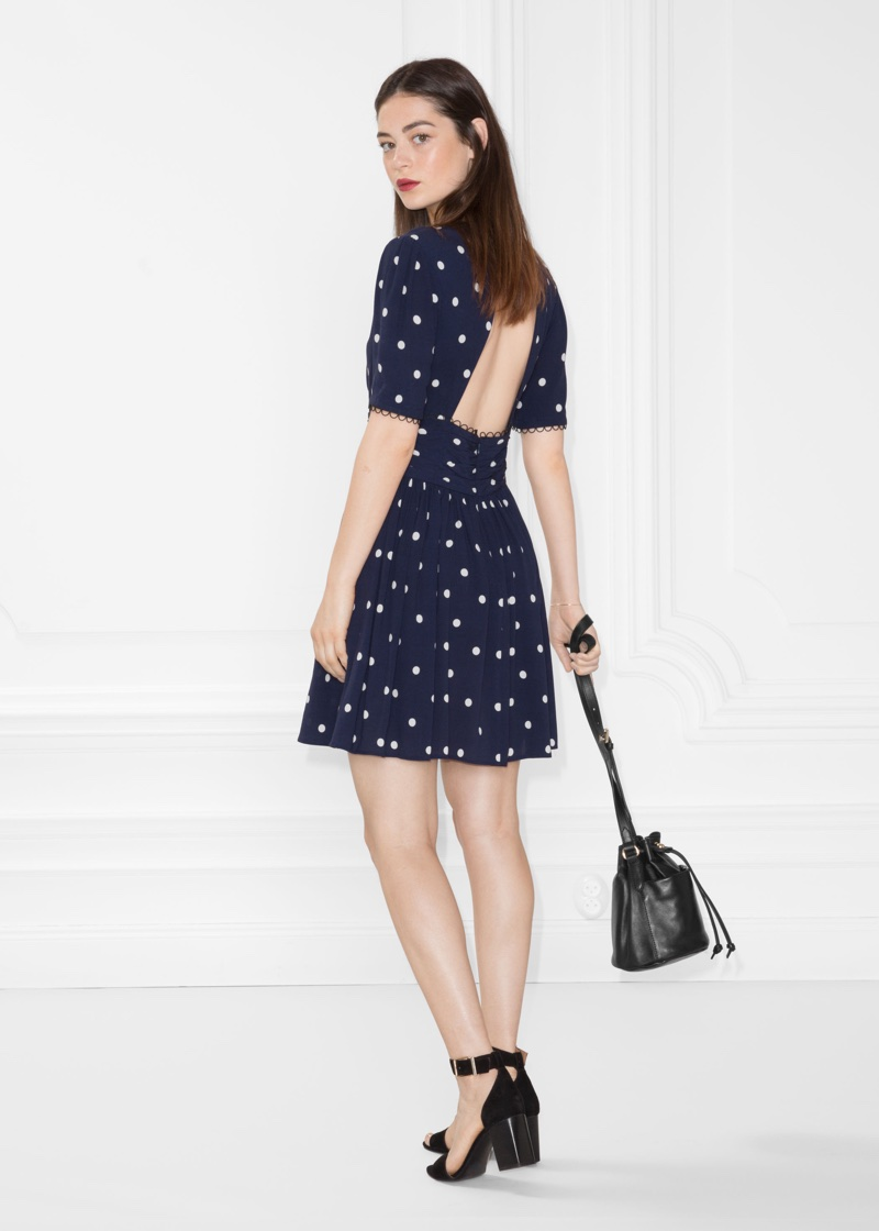 & Other Stories Dotted Dress $60 (previously $85)