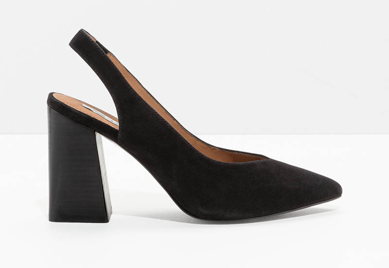 & Other Stories Pointed Slingback Pumps $67 (previously $95)