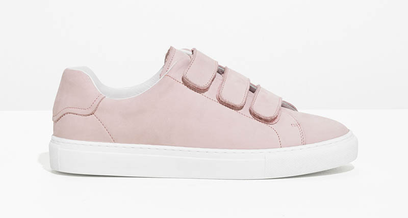 & Other Stories Scratch Strap Suede Sneaker $88 (previously $125)