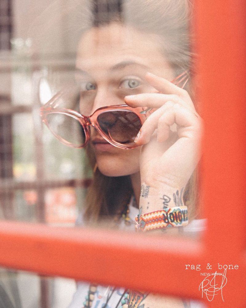 Paris Jackson stars in Rag & Bone's DIY Project