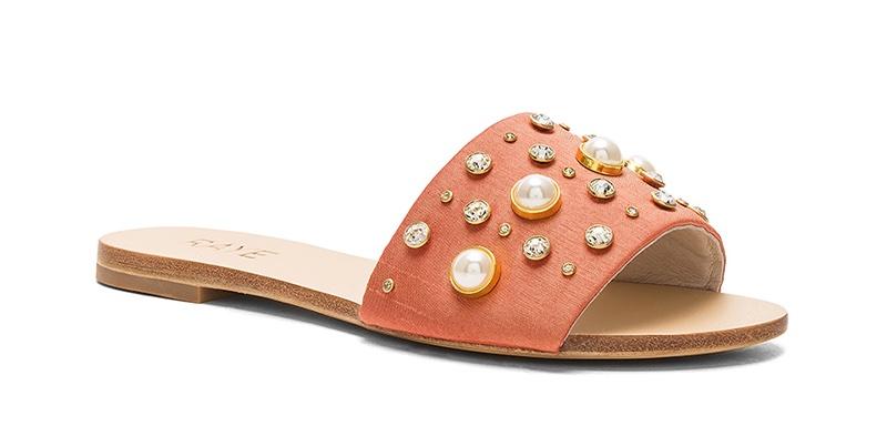 RAYE Cullen Slide Sandal $56 (previously $158)