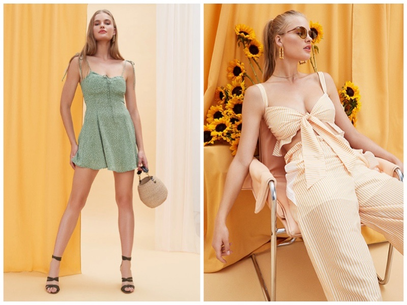 REVOLVE exclusive summer 2018 styles