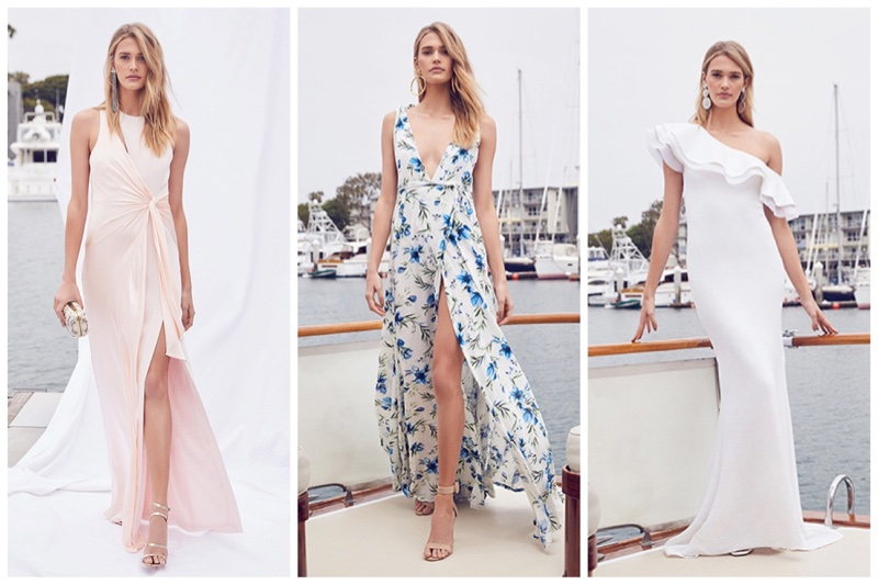 REVOLVE wedding and bridesmaid dresses