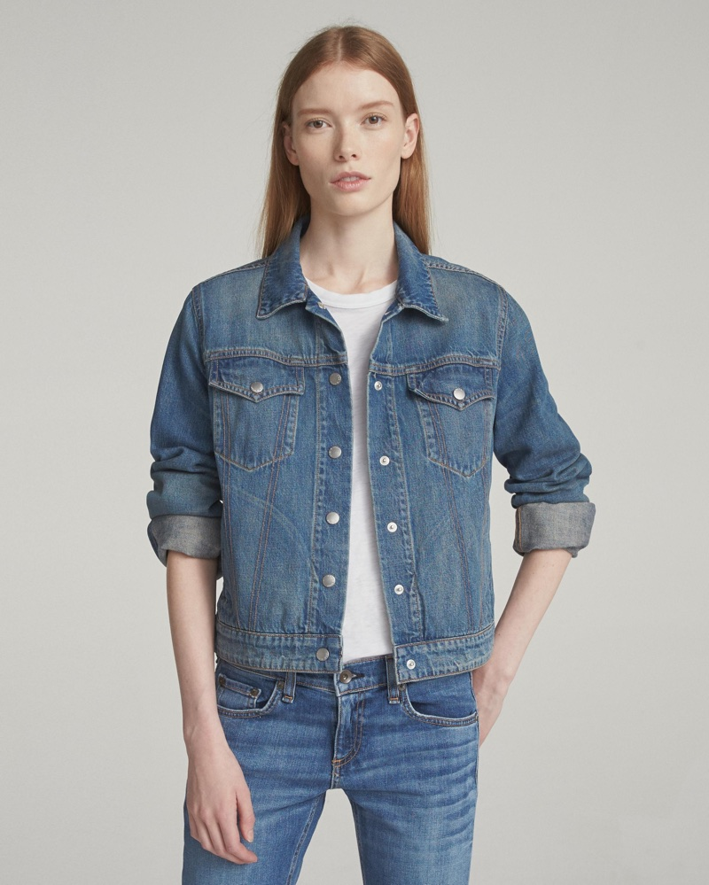 Rag & Bone Nico Denim Jacket $150 (previously $295)