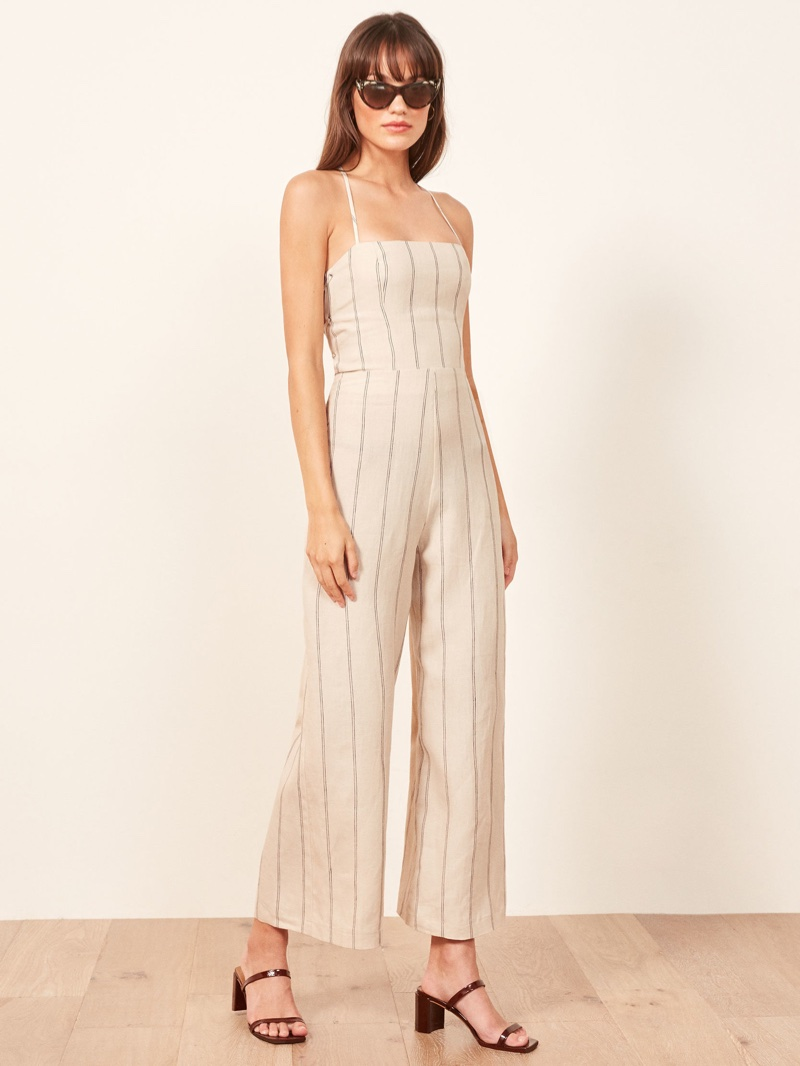 Reformation Jager Jumpsuit in Positano $218