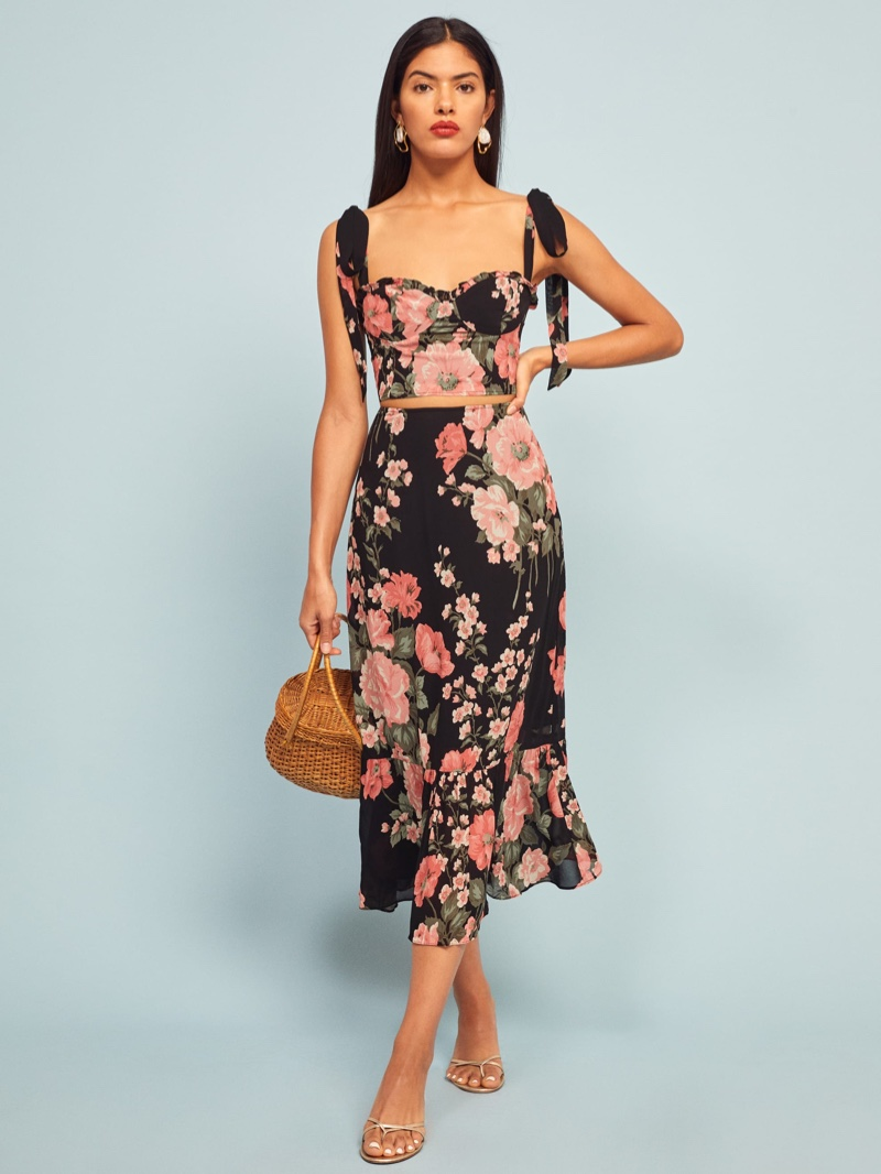 Reformation Liana Two Piece in Louise $248