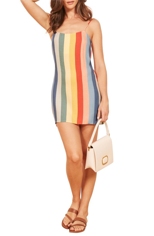 Reformation Lindsay Dress in Starburst $98