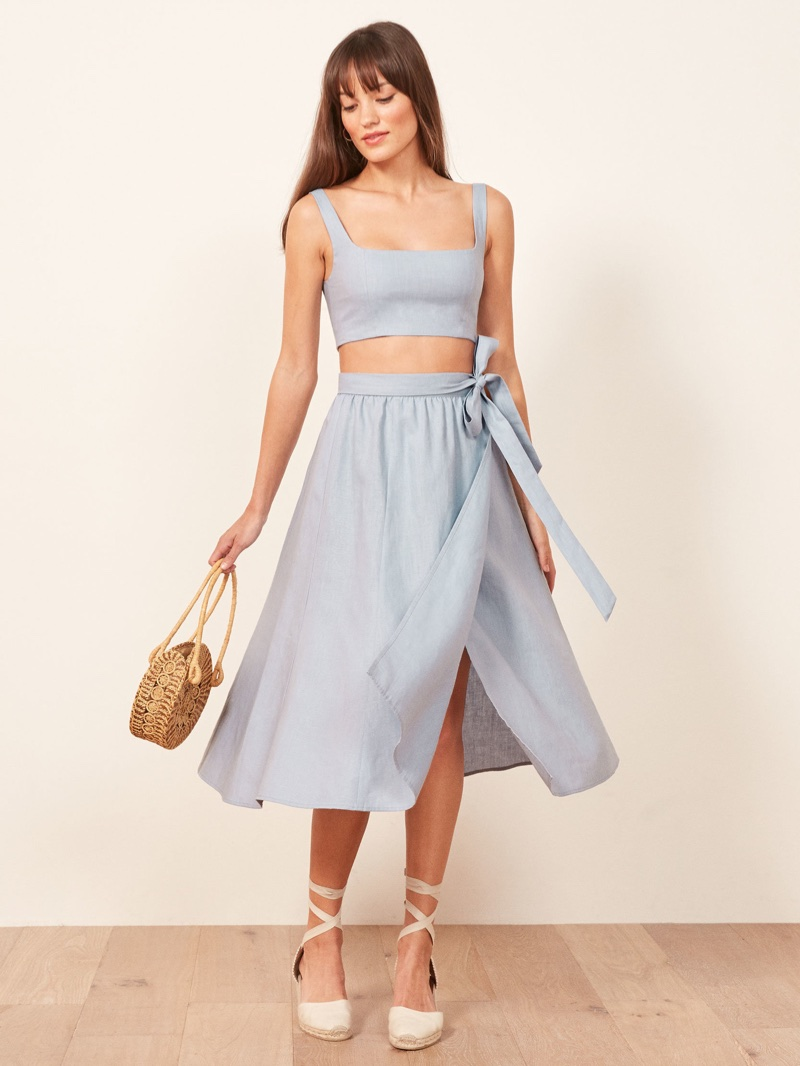 Reformation Molto Two Piece in Mineral $218