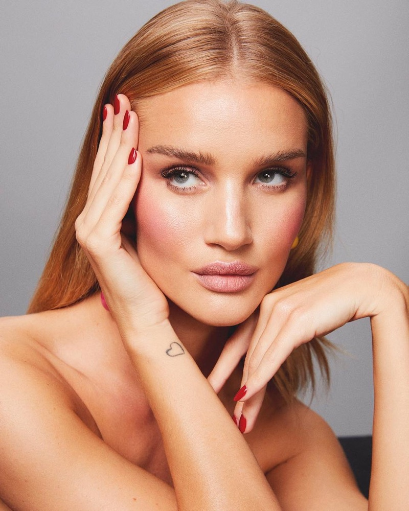Model Rosie Huntington-Whiteley launches beauty website called, Rose Inc.