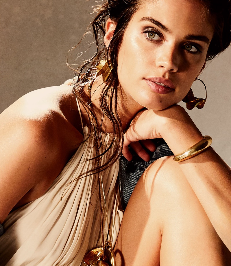 Sara Sampaio Wears Getaway Styles for PORTER Magazine