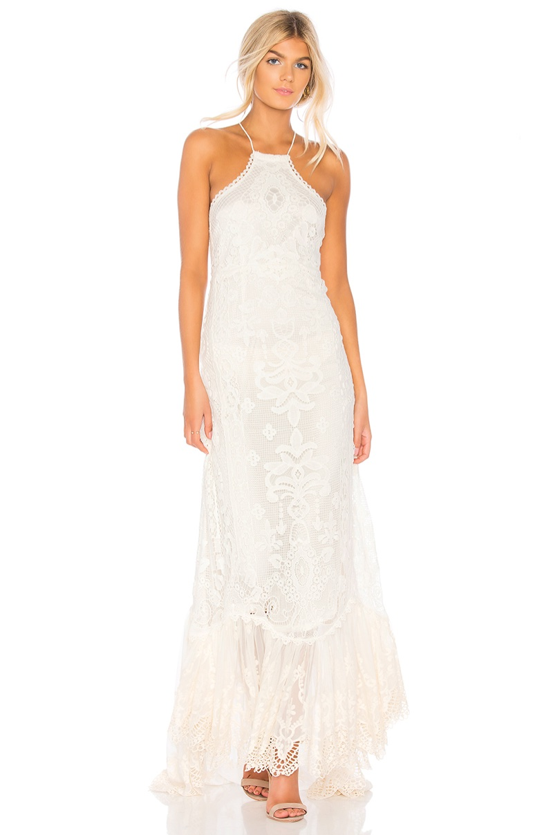 Spell & The Gypsy Collective Casablanca Halter Gown $800
