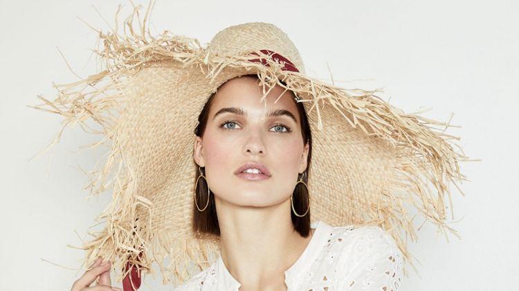 Gigi Burris Été Frayed-Brim Raffia Sun Hat