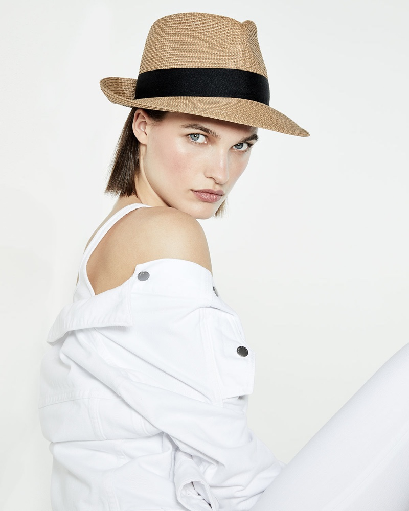 c7ea699eb0b33 SUMMER STYLE  A woven fedora hat is the perfect style for the spring-summer