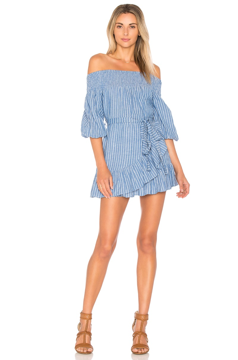 Tularosa Maida Ruffle Dress $158