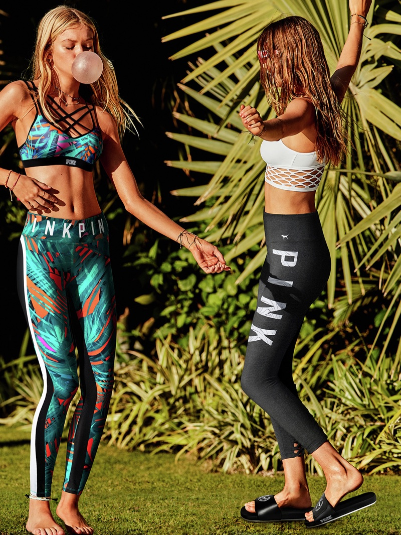 Activewear takes the spotlight for Victoria's Secret PINK summer 2018 campaign