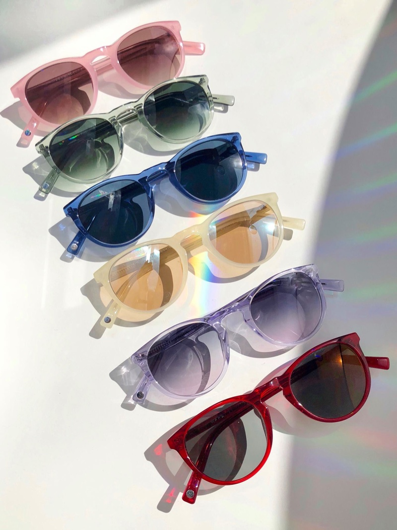 Warby Parker Haskell LGBTQ Pride sunglasses