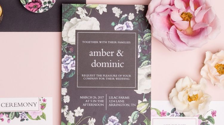 Where to Find the Chicest Wedding Invitations & Websites