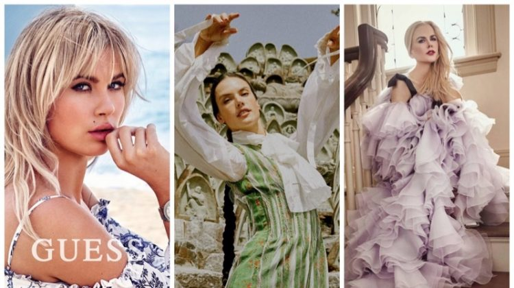 Week in Review | Alessandra Ambrosio's New Cover, Ireland Baldwin for Guess, Nicole Kidman in Tatler + More